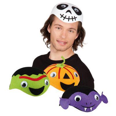Chapeau Demi-Tête Halloween Adulte