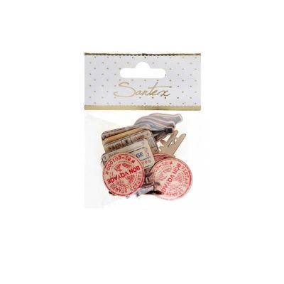 20 confettis de table collection bon voyage   jourdefete.com