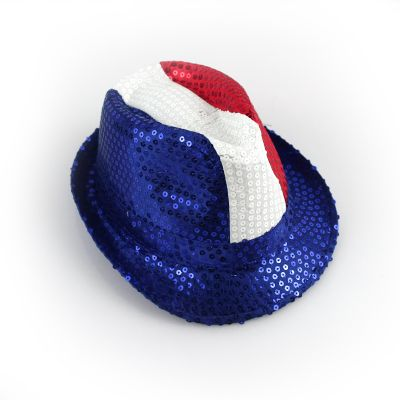 Chapeau Borsalino de Supporter Tricolore - France