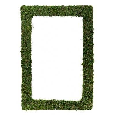 cadre vegetal en mousse verte synthetique | jourdefete.com