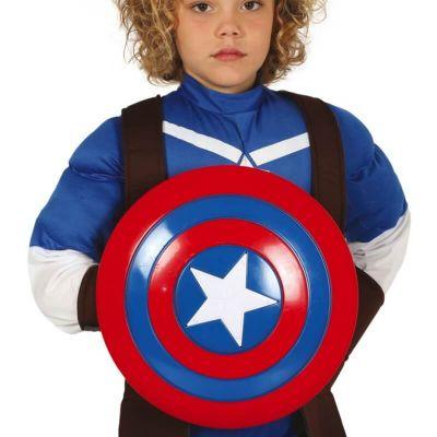 bouclier super heros etoile | jourdefete.com