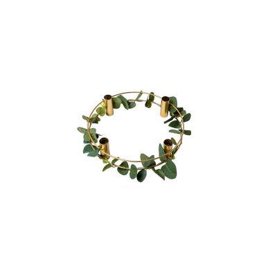 bougeoir-bougies-eucalyptus-decoration-table | jourdefete.com