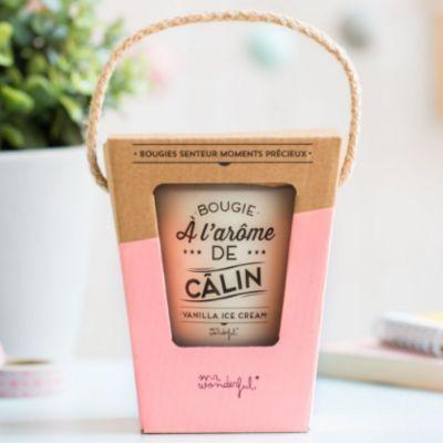 Bougie - A l'arome de calin - Mr. Wonderful   jourdefete.com