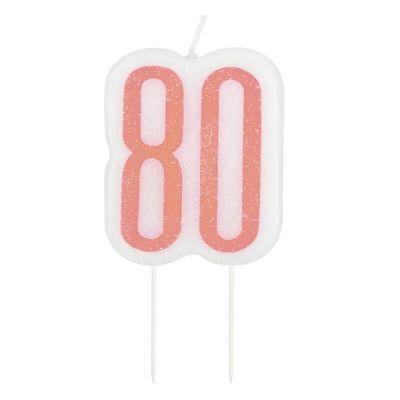bougie-age-glitz-rose-gold-nombre | jourdefete.com