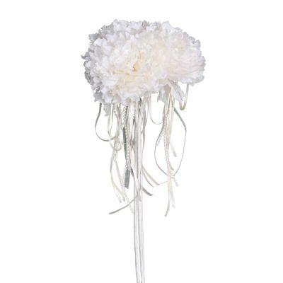 bouquet de 3 pivoines avec perles rose ou ivoire   jourdefete.com