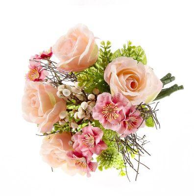Bouquet Roses artificielles Boheme Chic | jourdefete.com