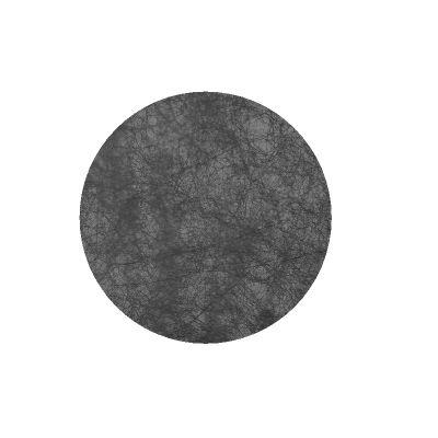 10 Sets de table ronds – Noir