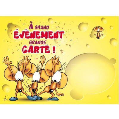 """Carte Géante avec Enveloppe - """"Grande Occasion"""""""