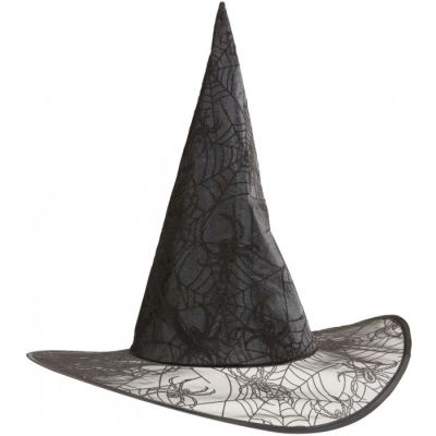 Chapeau de Sorcière Brillant - Toile d'Araignée