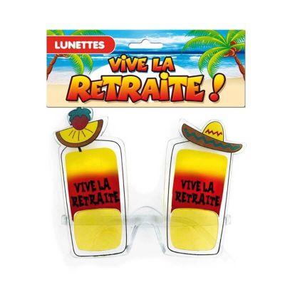 """Lunettes """"Vive la Retraite !"""""""