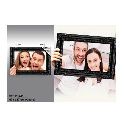 Cadre Photobooth en Plastique Noir