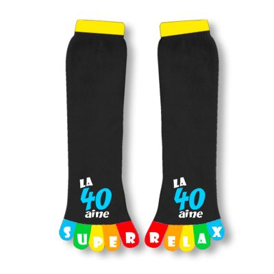 Chaussettes-à-orteils-40ans   jourdefete.com
