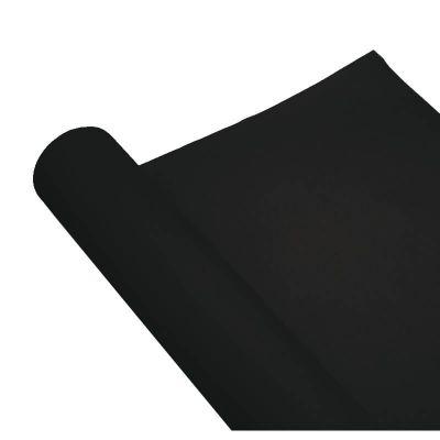 Chemin de table Airlaid - 0.4m x 10m - Noir   jourdefete.com