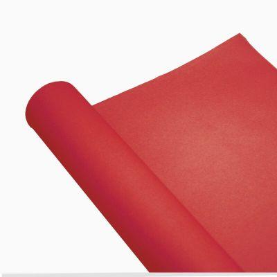 chemin de table en papier airlaid rouge | jourdefete.com