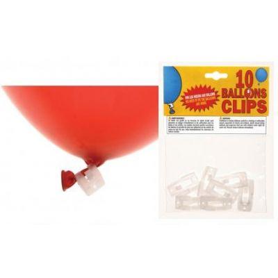 Clips à ballons par 10