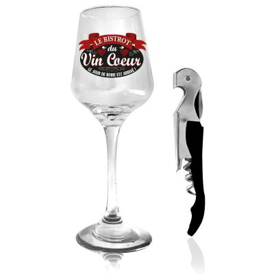 coffret cadeau verre et objet au choix | jourdefete.com