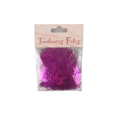 """Confettis de Table """"Vive les Mariés"""" - Fuchsia"""
