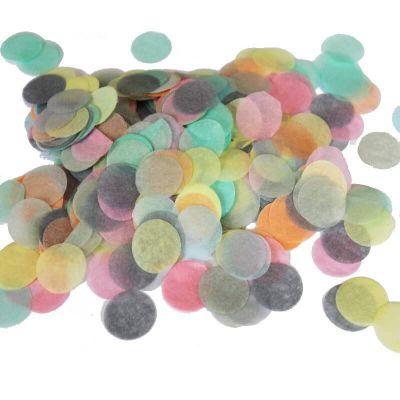 sachet de confettis pastels   jourdefete.com