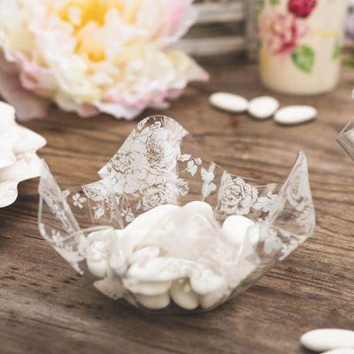 coupelle-apéritif-fleur-transparent | jourdefete.com