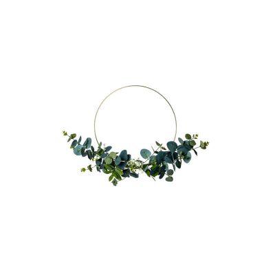 couronne-eucalyptus-metal-or-decoration-mariage-bapteme   jourdefete.com