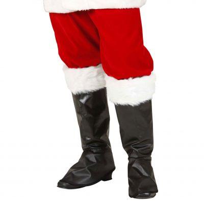 Accessoire Déguisement Couvre-Bottes de Père-Noël