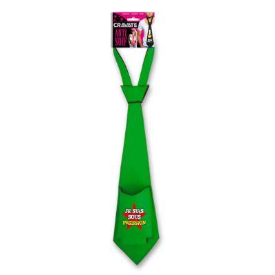 cravate porte biere couleur au choix   jourdefete.com