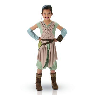 """Déguisement fille Star Wars® """"Rey"""" - Tailles au choix"""