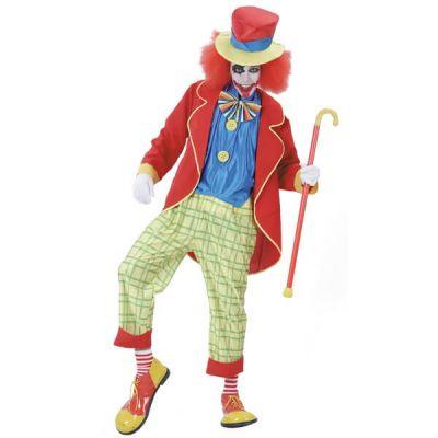 Déguisement-clown-auguste-halloween | jourdefete.com