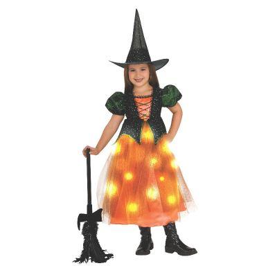 déguisement de sorcière lumineuse pour fille   jourdefete.com