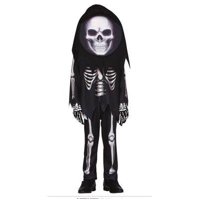 déguisement de squelette grosse tête pour enfant | jourdefete.com