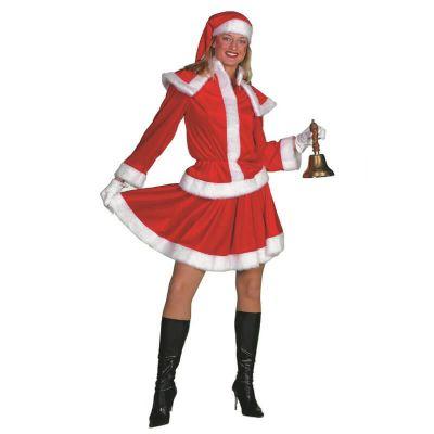 Déguisement Femme - Mère Noël - 3 Pièces - Taille au Choix   jourdefete.com