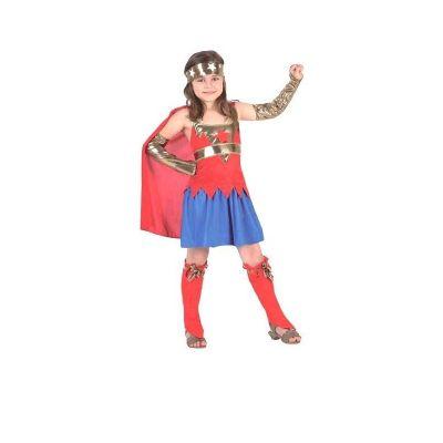 Déguisement Super Girl Fille - 5/6 ans