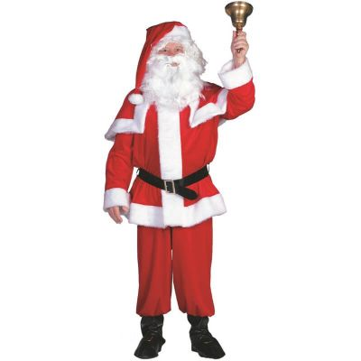 Déguisement Homme - Père Noël - 4 Pièces   jourdefete.com