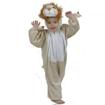 Déguisement de Petit Lion en Peluche