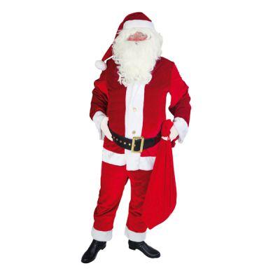 Déguisement Père Noël américain adulte
