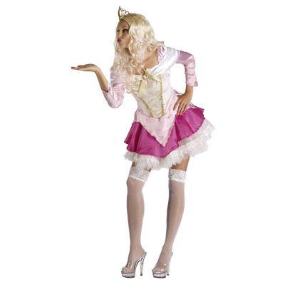 Déguisement de Princesse Rose Sexy Femme
