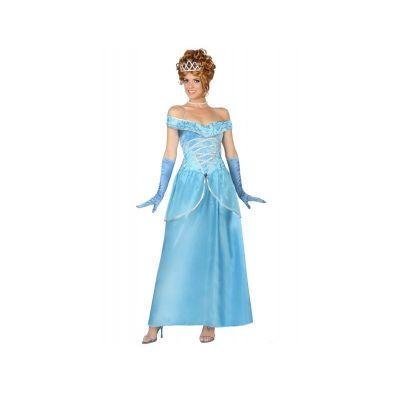 Déguisement Princesse Bleue Femme - Taille au Choix