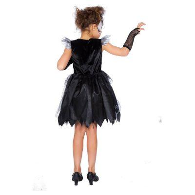 déguisement robe de sorcière araignée pour fille   jourdefete.com