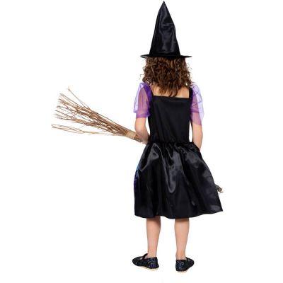 déguisement robe de sorcière chauves-souris pour fille | jourdefete.com