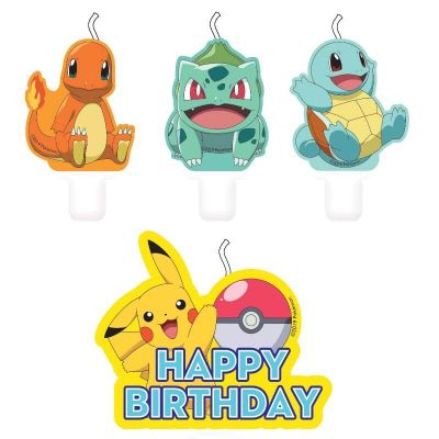 bougies-anniversaire-pokemon | jourdefete.com