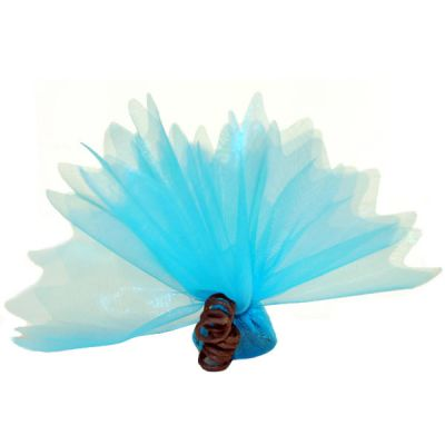 """Tulle """"Cristal"""" x10 - Turquoise"""