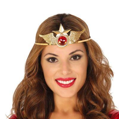 diademe super heroine en metal   jourdefete.com