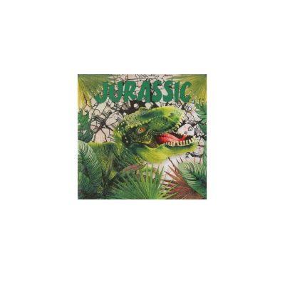 20 serviettes collection dinosaure | jourdefete.com
