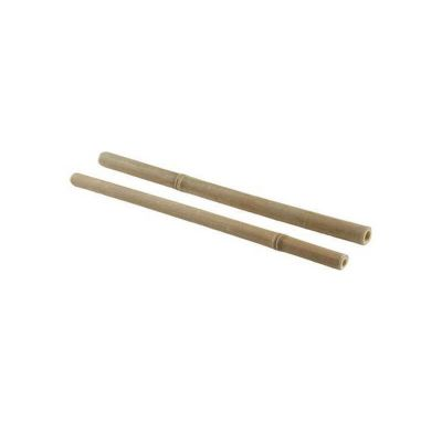 25 pailles en bambou de 24 cm | jourdefete.com