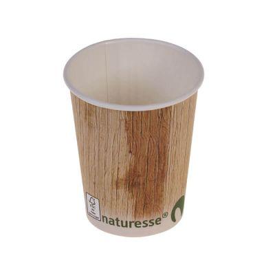 50 gobelets en cellulose et PLA avec décor palmier de 12,5 cl | jourdefete.com