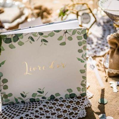 Livre d'Or - Collection Eucalyptus | jourdefete.com