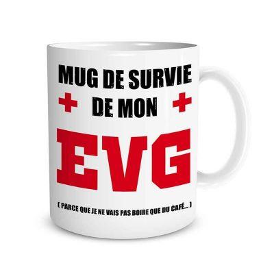 Mug Enterrement de Vie de Garçon   jourdefete.com