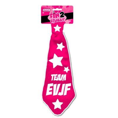 Cravate Team EVJF - Enterrement de Vie de Jeune Fille | jourdefete.com