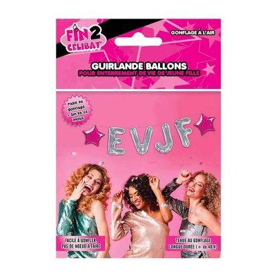Guirlande Ballons - Enterrement de Vie de Jeune Fille | jourdefete.com