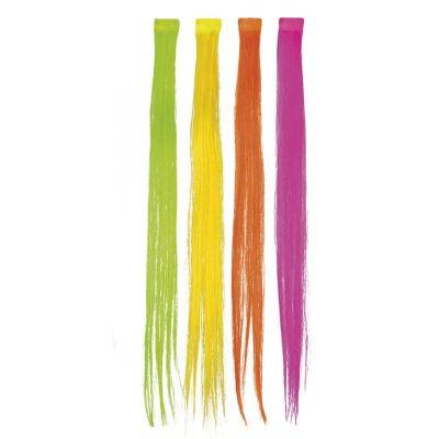 Extension de Cheveux - Mèche Fluo - Couleur au Choix   jourdefete.com